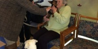 """BR-Beitrag zu unserer Initiative """"Besuch von Tierheimhunden im Seniorenheim"""""""