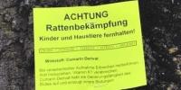 Achtung Gift!!!! Rosenheim rund um die Christkönigkirche