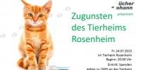 Musikalische Lesung im Tierheim Rosenheim