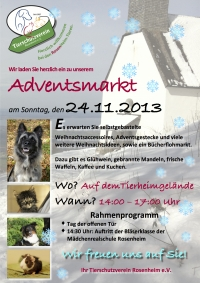 Adventsmarkt am 24.11.2013
